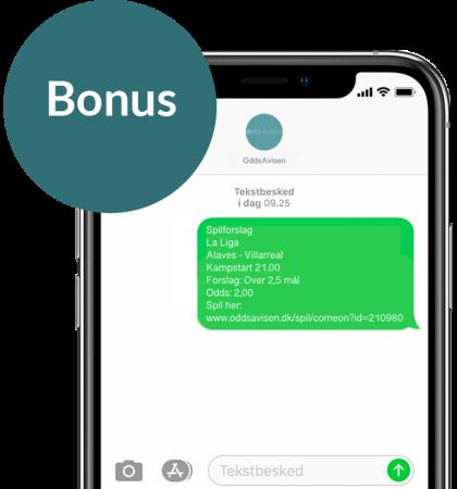 SMS bonus